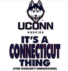 UCONN Huskies! #bleedblue
