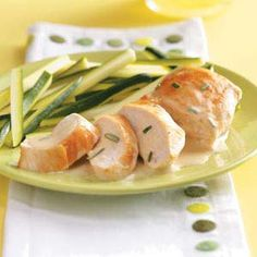 Chicken with Rosemary Butter Sauce