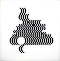 Juxtapoz- Bridget Riley Op Art and geometric abstraction Bridget Riley Op Art, Tate St Ives, Design Graphique, Elements Of Art, Line Design, Art Plastique, London, Optical Illusions, Paintings For Sale