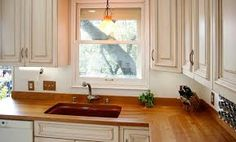 Image result for wood countertop kitchen