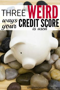Think your credit score is only used on loan applications? Think again. Here are three weird ways your credit score is used and why you should care. #knowcredit http://singlemomsincome.com/weird-ways-your-credit-score-is-used/