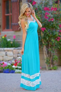 Another Pina Colada Please Maxi Dress from Closet Candy Boutique