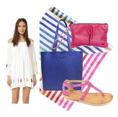"""""""Beach Days"""" by tsongausa on Polyvore featuring Las Bayadas and Misa"""