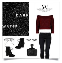 """Dark horse"" by tuicat14 ❤ liked on Polyvore featuring even&odd, Elizabeth and James, Journee Collection and Violet Voss"