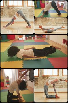 clase yoga para niños
