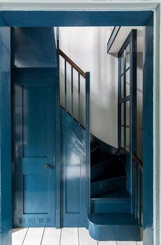 〚 Renovated Georgian house with garden in London 〛 ◾ Photos ◾Ideas◾ Design Interior Exterior, Home Interior, Interior Modern, Interior Design, Design Design, Modern Georgian, Georgian Homes, Georgian Era, Georgian Interiors