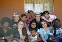 St Henry's Marist Brothers' College - South Africa: Students interact with poor children and their families