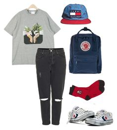 """""""xxxxxx"""" by pallo ❤ liked on Polyvore featuring Topshop, Fjällräven and Fat Face"""