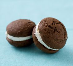 Classic Whoopie Pies...I really want to try these.