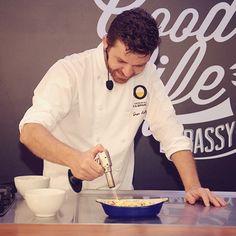 O chef Guga Rocha apresenta uma receita fenomenal durante o #TGLE Brasil.