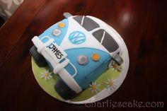 VW Bus Cake.
