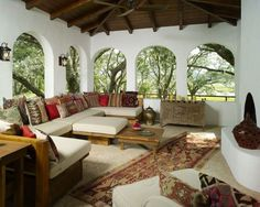 Hacienda Style Homes Design, Pictures, Remodel, Decor and Ideas - page 2 - cool #realpalmtrees realpalmtrees.com cool design ideas for anyone #outdoorliving