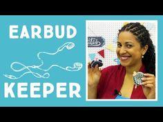 Crafty Gemini Creates - Earbud Pouch Keeper