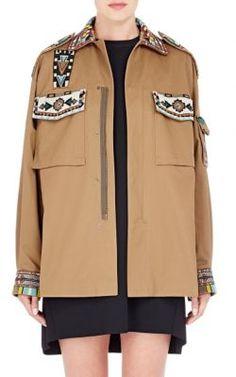 valentino army jacket