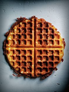 This simple go-to recipe makes perfect waffles that is great by itself or with sweet or savoury toppings.