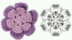 flor ganchillo