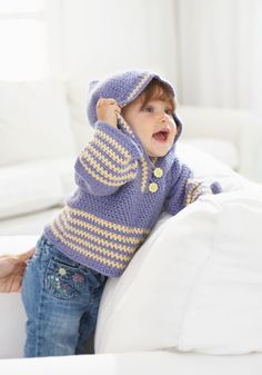 Free+Crochet+Jacket+Patterns Baby Crochet Pattern Hooded ...