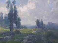 granville redmond paintings | Hanson Puthuff - Drama of Summer Clouds