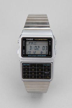 Casio Databank Metal Watch