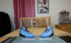 Nike Air Jordan 3 5Lab3 Black Matched with a Phiten Empower Futon Mattress http://www.thefutonshop.com/The-Empower-Phiten-Mattresses/sc/735/737