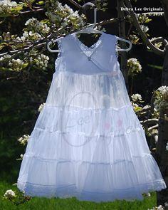 Infants slip Christening Gown / Christening Dress by Debragardner