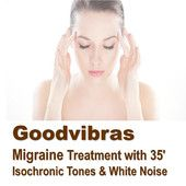 Therapy for Migraine With 35' Isochronic Tones & White Noise mp3 audio