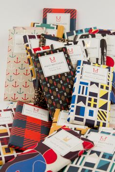 Mast Brothers - has chocolate wrapping ever been more appealing?