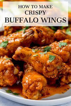 Best Chicken Wing Recipe, Chicken Wing Sauces, Hot Wings Recipe Fried, Buffalo Hot Wings Recipe, Baked Buffalo Wings, Grilled Buffalo Wings Recipe, Sauce For Chicken Wings, Chiken Wings, Chicken Drumsticks