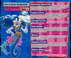 All about Monster High: Peri & Pearl Serpentine
