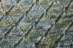 Deux Côtés is a shawl made top-down with a yummy sock yarn. Grab the pattern and Math4Knitters, Crafty Living: Show 96, featuring a chat with Edie Eckman on Sunday, October 30, 2011.