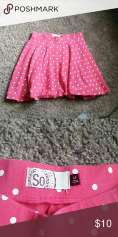 Pink skirt Pink polka dot skirt Rue 21 Skirts Mini