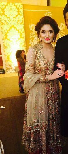 my fav dress Pakistani Formal Dresses, Pakistani Wedding Dresses, Indian Wedding Outfits, Pakistani Outfits, Indian Dresses, Indian Outfits, Bridal Dresses, Pakistani Couture, Pakistani Bridal Wear