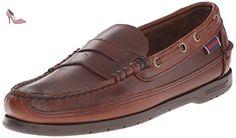 Sebago  Sloop, Chaussures bateau pour homme Marron Marron 39.5 - Chaussures sebago (*Partner-Link)