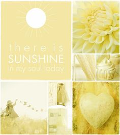 moodboard yellow made by Audrey