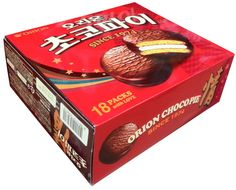 Choco Pie 18 packs Orion Bread Chocolate Snacks More Delicious Korean Food #Orion