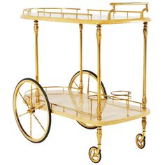 Shop carts and bar carts and other modern, antique and vintage tables from the world's best furniture dealers. Furniture Plans, Table Furniture, Cool Furniture, Brass Bar Cart, Arabic Decor, Vintage Table, Aldo, Drink Stations, Modern Bar