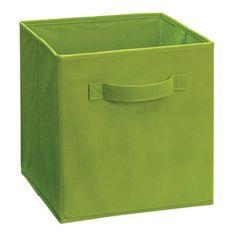 ClosetMaid Cubeicals Fabric Drawer, Spring Green