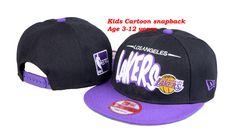 NBA Los Angeles Lakers Snapback Hats Black New Era Kids Hats 2613|only US$8.90