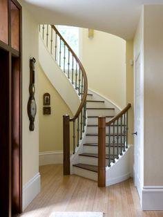 semi spiral stairs