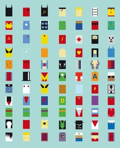 #icons comic book characters