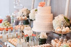 Beautiful wedding sweets table by MWDesigns http://www.facebook.com/pages/Megan-Wappel-Designs/461214235121