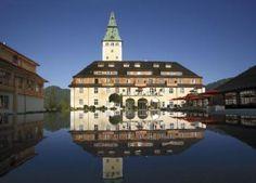 Schloss Elmau - Luxury Spa & Cultural Hideaway. For me its the best hotel I know.  www.schloss-elmau.de Concerts with Manu Katvhe, David garret...
