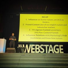 Webstages Konferenz