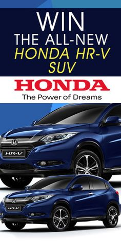 #Win the All-New #Honda HR-V #SUV! #competition #car