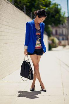 I <3 Wendy's Lookbook. I want an electric blue blazer!