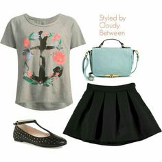 Cute outfits for tweens.... I honestly love this one and you can get this from Claire's, Children's Place,Kholes