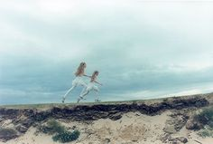Portraits of Identical Icelandic Twins by Japanese photographer Ariko Inaoka