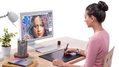 How to set up a Wacom tablet for Photoshop  15 ways to make your Wacom tablet work better and more easily with Photoshop's tools  By Tigz Rice