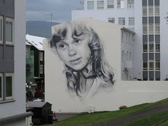 Giant Street Art Portraits in Kiev – Fubiz Media