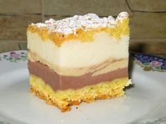 """Homemade cakes and lunches: Cheesecake flavors"""" with cream Orange Recipes, Food Cakes, Homemade Cakes, Cheesecakes, Cake Cookies, Vanilla Cake, Cake Recipes, Food And Drink, Cooking Recipes"""
